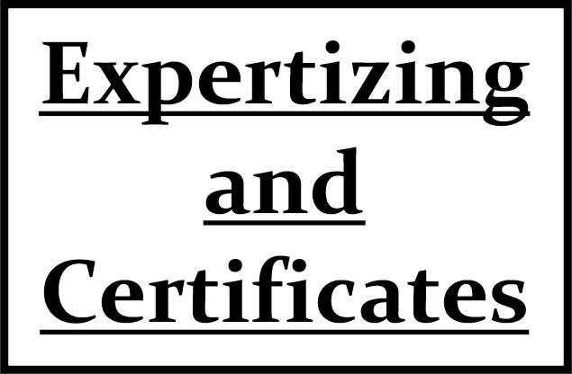 Expertizing and                 Certificates